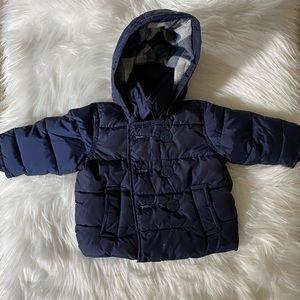 Boy's Baby Gap Puffer Coat 0-6 Months